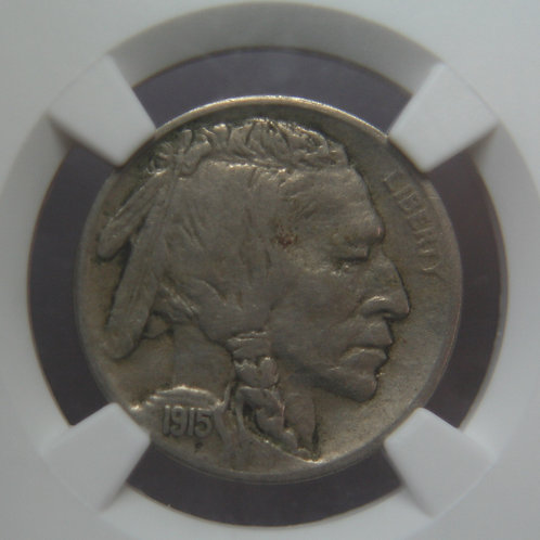 1915-S Buffalo Nickel NGC XF45