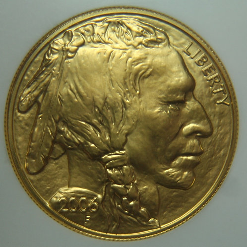 2006 Buffalo $50 Gold One Troy Ounce NGC MS70