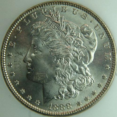 1888 Morgan Silver Dollar NGC MS64