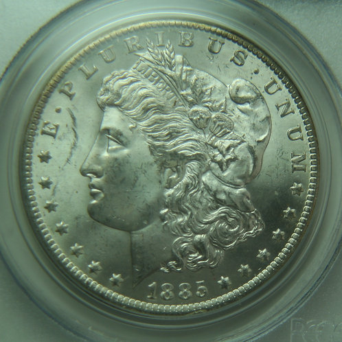 1885-O Morgan Silver Dollar PCGS MS64