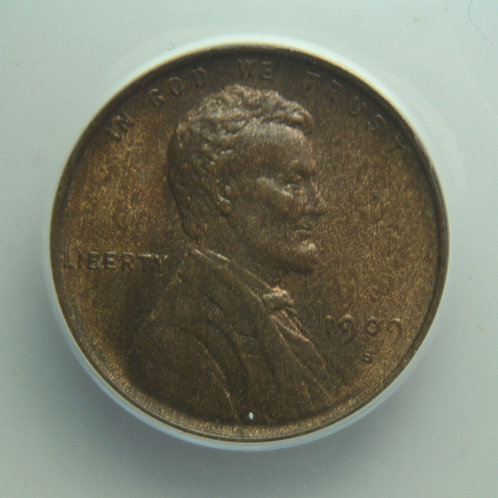 1909-S VDB Lincoln One Cent ANACS MS62BN