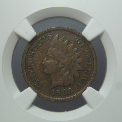 1909-S Indian Head One Cent NGC F15BN