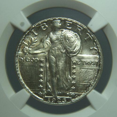 1926-D Standing Liberty Quarter NGC MS64