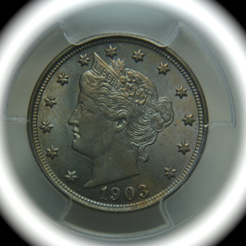 1903 Liberty Head Nickel PCGS AU58