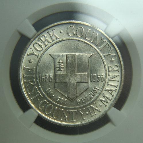 1936 York Half Dollar NGC MS63