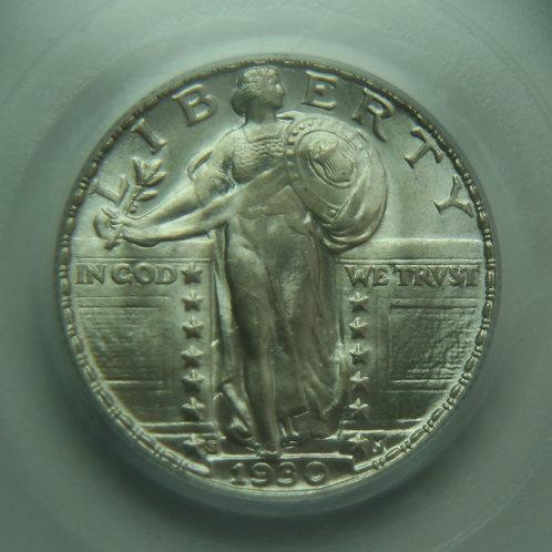 1930-S Standing Liberty Quarter PCGS MS65 & CAC