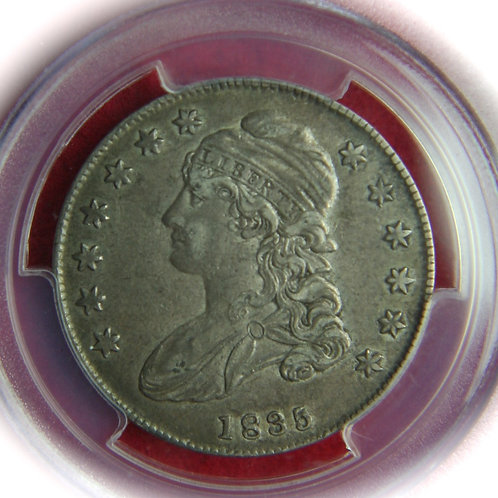 1835 Capped Bust Half Dollar PCGS XF40