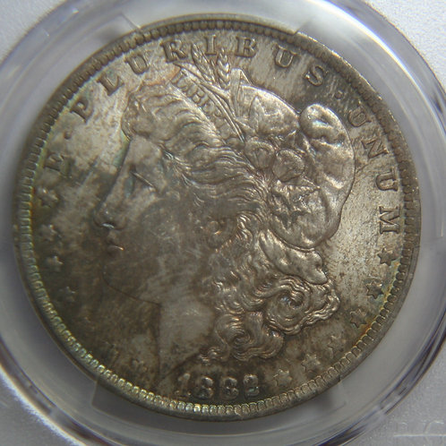 1882-O Morgan Silver Dollar PCGS MS63