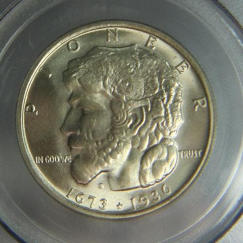 1936 Elgin Half Dollar PCGS MS65