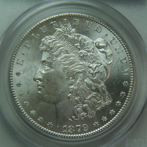 1879-S Morgan Silver Dollar PCGS MS64 & CAC