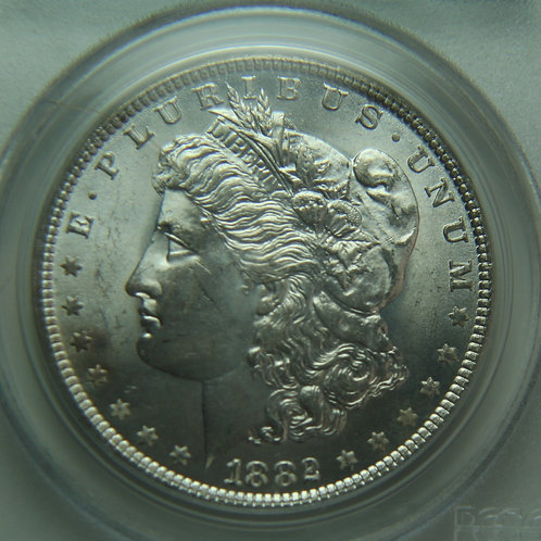 1882-O Morgan Silver Dollar PCGS MS64 & CAC