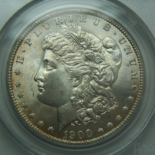 1900-O Morgan Silver Dollar PCGS MS66