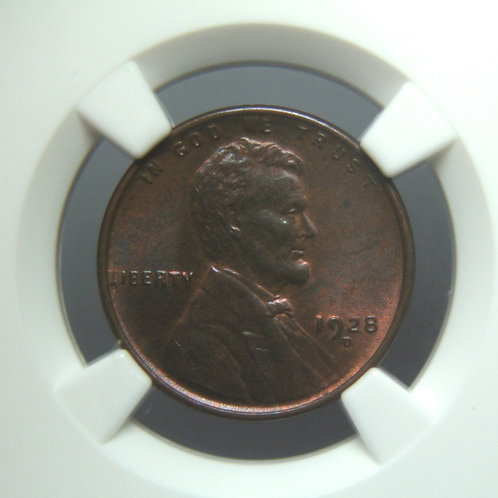 1928-D Lincoln One Cent NGC MS64 RB