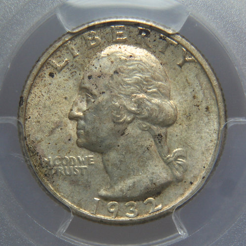 1932-S Washington Quarter PCGS AU58