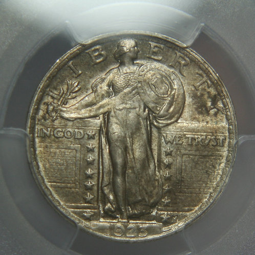 1923 Standing Liberty Silver Quarter PCGS MS64