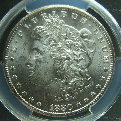 1880-CC Morgan Silver Dollar PCGS MS62