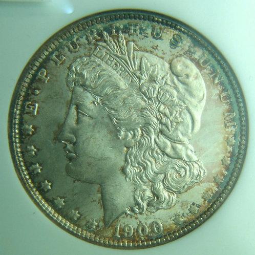 1900 Morgan Silver Dollar NGC MS64