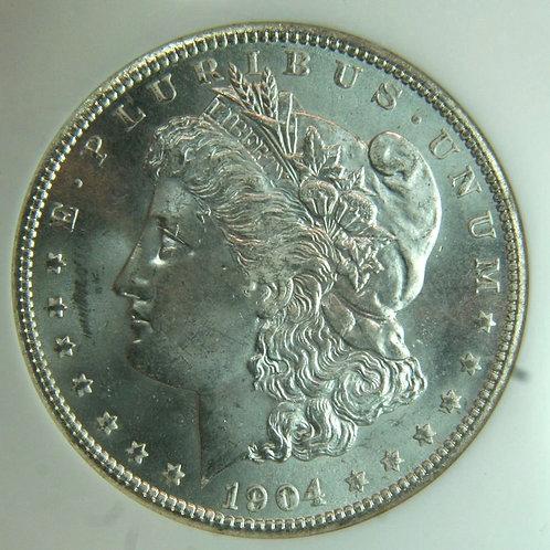 1904-O Morgan Silver Dollar NGC MS64