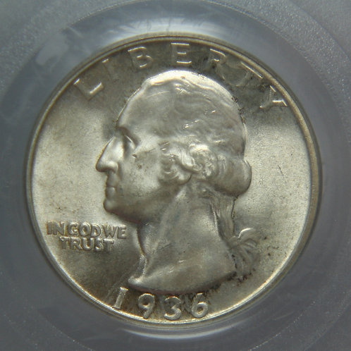 1936-S Washington Quarter PCGS MS64