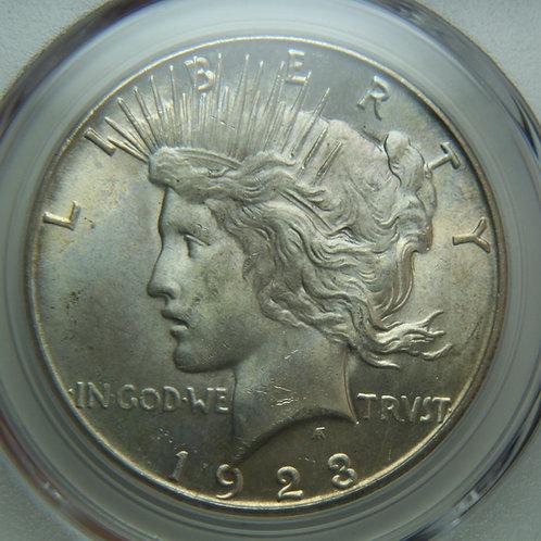 1923-S Peace Silver Dollar PCGS MS64