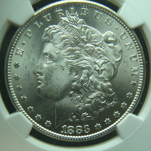 1883-CC Morgan Silver Dollar NGC MS65