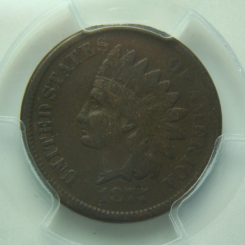 1877 Indian Head One Cent PCGS VG10