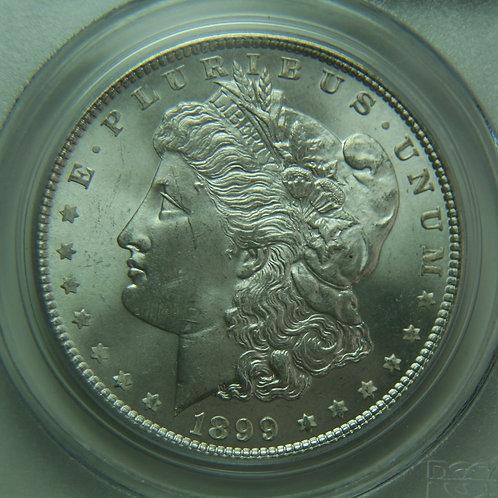 1899 Morgan Silver Dollar PCGS MS64