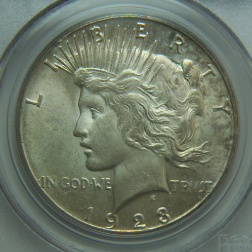 1923-S Peace Silver Dollar PCGS MS62