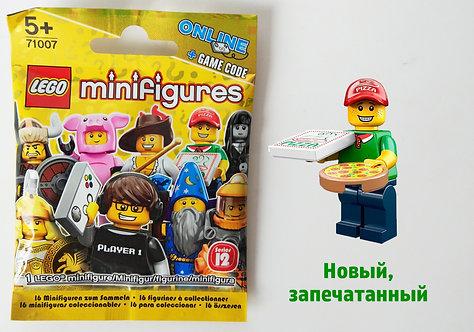 Lego Minifigures 12 Доставщик пиццы