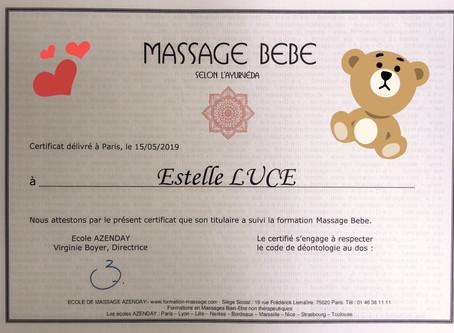 Nouveauté ! Atelier massage bébé !