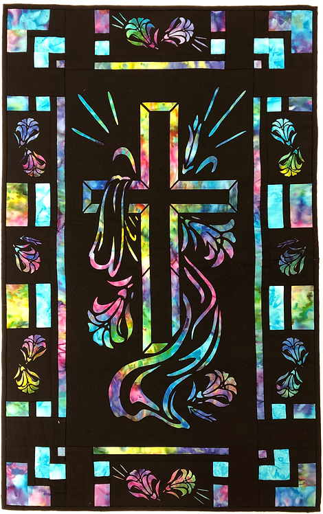 He is Risen Quilt Pattern/Laser Set