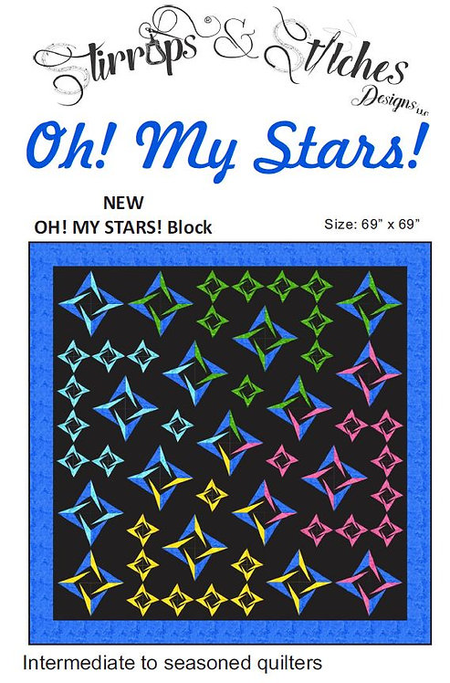 Oh! My Stars! Quilt Pattern