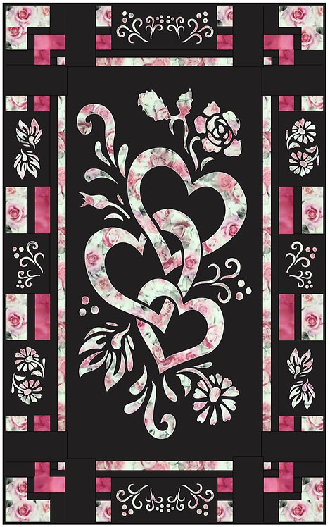 Be Mine Quilt Pattern/Laser Set