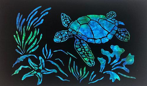 Sea Turtle Laser Cut