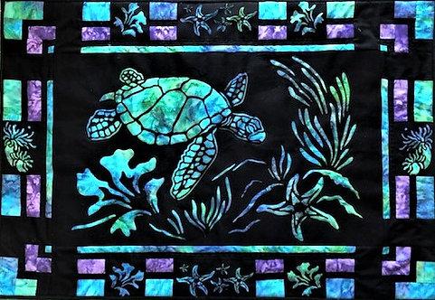 Sea Turtle Quilt Pattern/Laser Cut