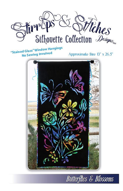 Butterflies & Blossoms Pattern