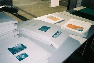 Shy Bairns risograph printing zine