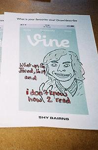 Shy Bairns The Tetley zine workshop vine