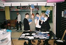 Shy Bairns Middlesbrough Arts Weekender zine Izzy Kroese George Gibson Erin Blamire Elle Haswell