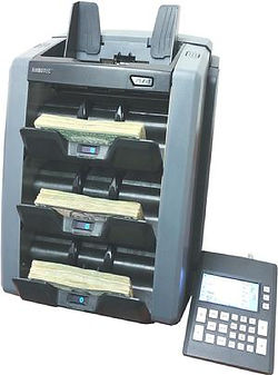 AMROTEC X-3000 Currency Sorters with 3-Stackers