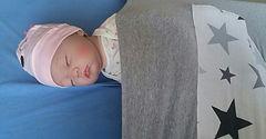 שמיכת עיטוף, שמיכת תינוק,שינה