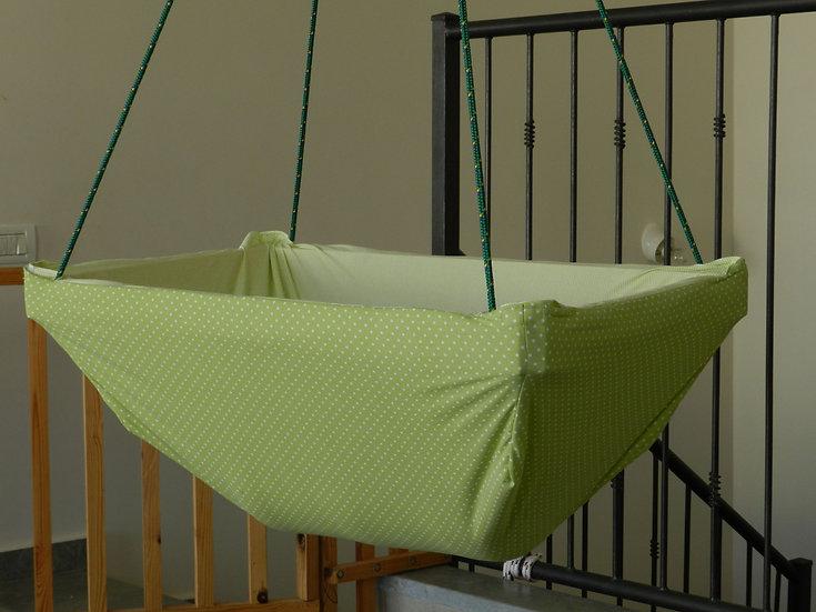 ערסל תינוקות כרמל צבע ירוק