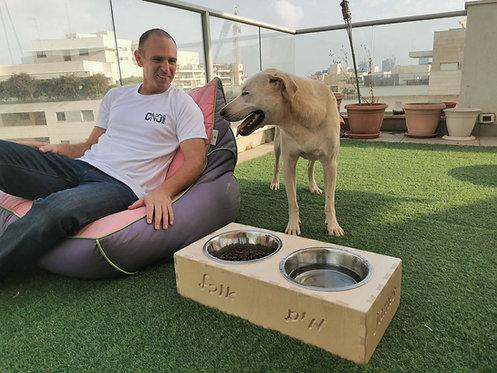 מתקן האכלה לכלבים בהתאמה אישית