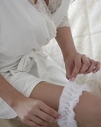 Ručně šité a zdobené svatební podvazky🎀