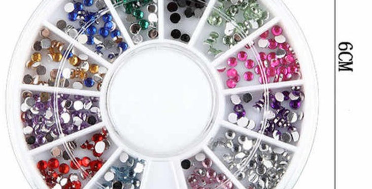 ART WHEELS RHINESTONES