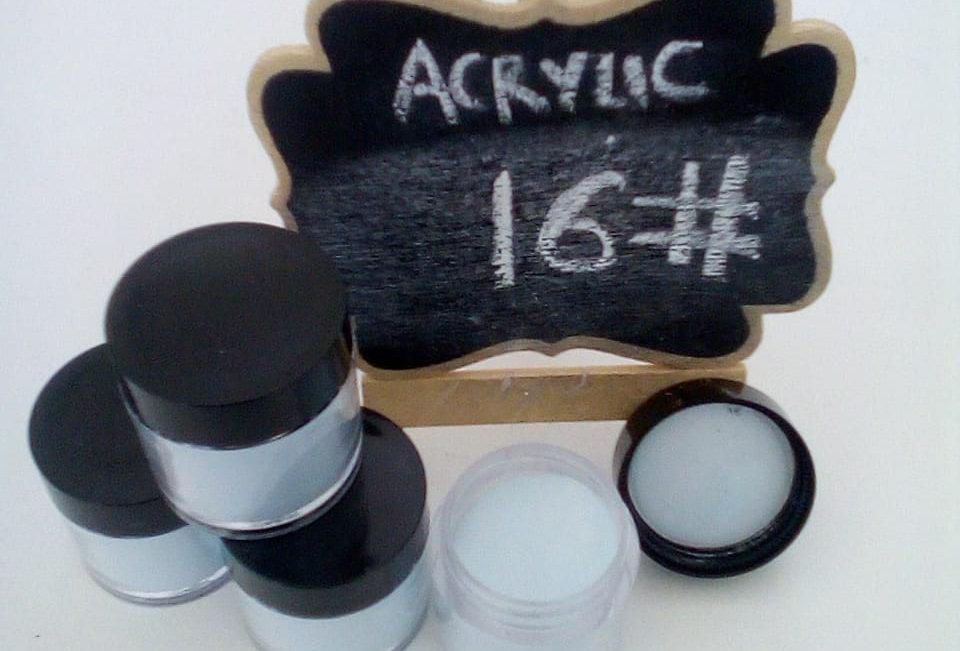 16 - 30 ACRYLIC POWDER 10G COLOR