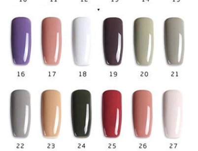 AS GEL POLISH MORANDI RANGE 31-36