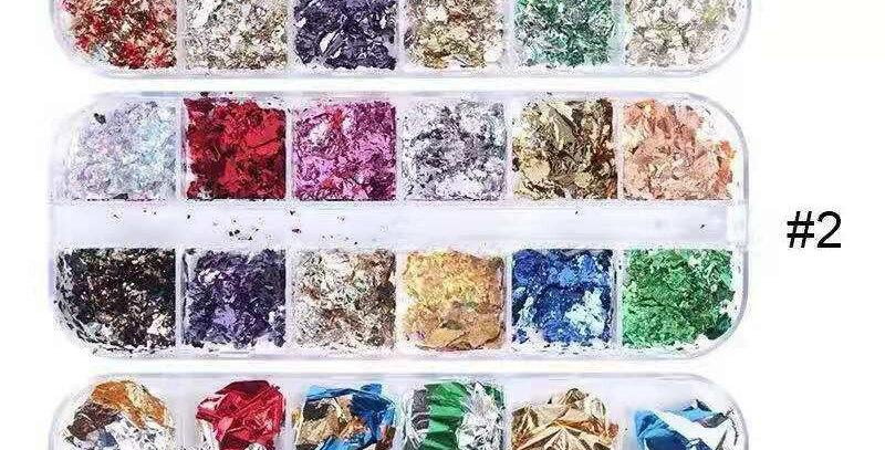Foil paper 12  colors