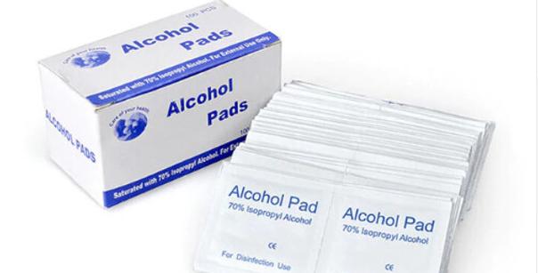 ALCOHOL PADS 100 PIECES