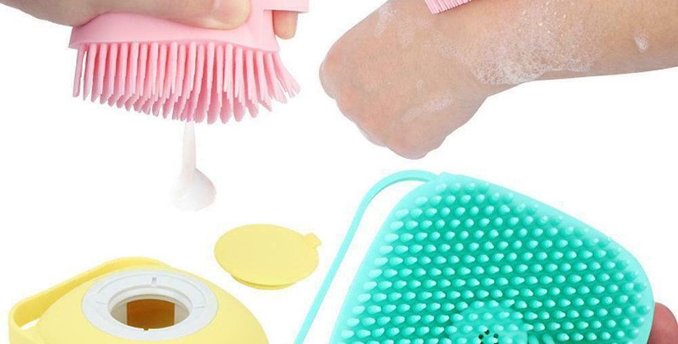 Silicone bath massger